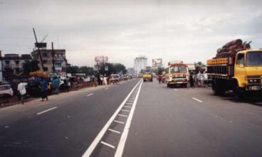 孟加拉达卡——杰查巴里路