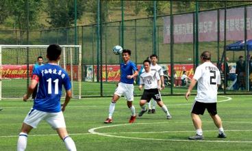 集团公司成立十五周年职工运动会足球比赛