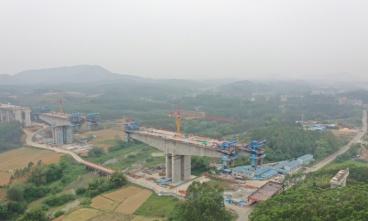 大塘至浦北高速公路平陆运河特大桥