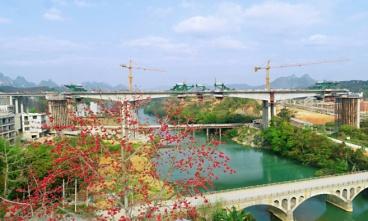 贺州至巴马高速公路(都安至巴马段)盘阳河2号大桥